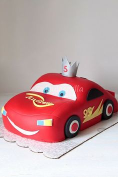Lightning Mcqueen Cake | Flickr - Photo Sharing!