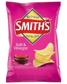 Smith's Crinkle Cut Salt & Vinegar Chips 170g