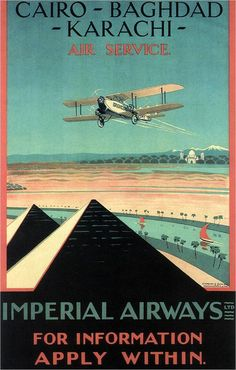 Wall art. Vintage  Airline advert Jersey Airways Reproduction poster