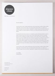 Self Promotion / Stationery on the Behance Network