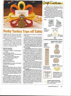 PLASTIC CANVAS (pág. 15) | Aprender manualidades es facilisimo.com