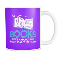 Books Life's Apology For Every Crappy Day Ever Mug