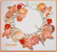 Florida shells & starfish Bracelet