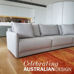 #Brodie is designed and made in Australia buy Studio Pip.  This elegant and stylish sofa is made of individual pieces that seamlessly come together to form a lounge size of your choice