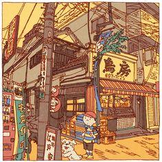 100 views of Tokyo by Shinji Tsuchimochi