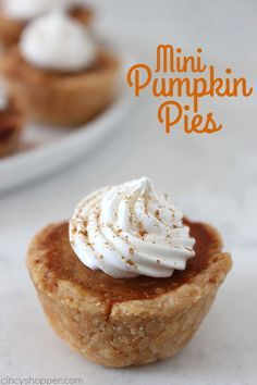 These Mini Pumpkin Pies will make for a cute and easy Thanksgiving or Christmas dessert. A perfect, traditional, prep-ahead, miniature dessert that is made right in a muffin tin. You can use homemade pie crust or store bought to speed up the process. Mini Pumpkin Pies During the fall, nothing beats a classic pumpkin pie. Pumpkin pie is...Read More