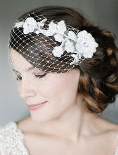 Hey, I found this really awesome Etsy listing at https://www.etsy.com/listing/117602148/birdcage-veil-bird-cage-veil-lace