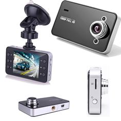 "2.4"" Car DVR LCD Full HD 720P English and Russian Vehicle Camera Video Recorder Dash Cam G-Sensor 32G Memory Card"