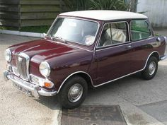 Wolseley Hornet Mark Aww a cousin for my George x Old Used Cars, Old Cars, Classic Mini, Classic Cars, Vintage Cars, Antique Cars, Jaguar, Automobile, British Sports Cars
