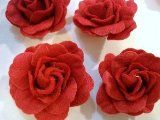 How to Make Felt Roses - Tutorials and Patterns