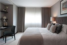 Hotel style bedroom chic ..Bramah Penthouses