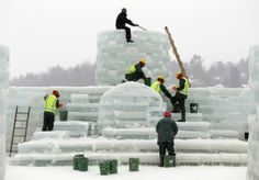 saranac lake winter carnival | ... palace in Adirondacks for Saranac Lake Winter Carnival | masslive.com