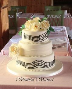15 Stunning Musical Notes Cakes