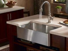 apron kitchen sink- love it!