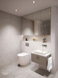 The George, Burwood Modern Luxury Bathroom, Small Bathroom Interior, Bathroom Design Luxury, Bathroom Design Small, Bathroom Layout, Laundry Room Inspiration, Bathroom Design Inspiration, Space Saving Toilet, Bathroom Showrooms