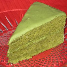 I have to bake a vegan cake from scratch...this one looks like it's worth the effort!!!   Green Tea Cake (vegan) | Made Just Right by Earth Balance