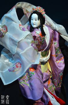 Japanese traditional puppet theater, Bunraku 文楽