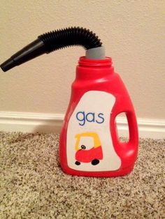 DIY Cozy Coupe Gas Can - Mother's Niche