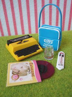 Re-ment (Rement) Japanese Dollhouse Miniature Toys : Natalie French Shop Zakka #5 Typewriter