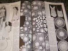 Resultado de imagem para hairpin lace crochet