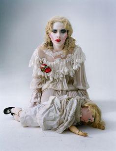 Scarlett Johansson as Baby Jane Hudson photographed by Tim Walker