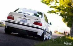 BMW E36 M3 white