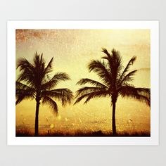 At Sunset Art Print by Amelia Kay Photography - $19.00