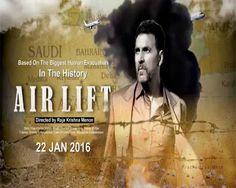 Airlift  2016 is a Indian war thriller film directed by Raja Krishna Menon, and starring Akshay Kumar, Nimrat Kaur,Purab Kohli and Lena in pivotal roles.