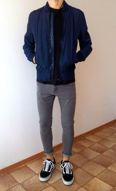 vans old skool skinny jeans boys guys outfit Stylish Mens Outfits, Casual Outfits, Men Casual, Fashion Outfits, Vans Outfit Men, Herren Outfit, Men Style Tips, Mens Clothing Styles, Look Cool