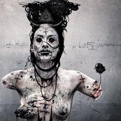 Seth Siro Anton Art Official from new album Extinct (Moonpell)