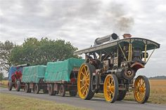 Burrell scenic showmans engine