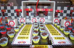 Details for this Ferrari themed party