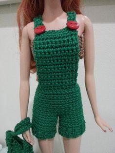 Barbie Basic Overalls (Free Crochet Pattern)