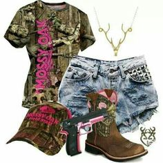 Mossy oak LOVE this (except the shorts... I'm a jeans kinda girl)