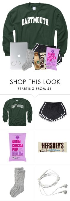 """""""Doing Some Science Homework On The Bus😕"""" by twaayy ❤ liked on Polyvore featuring NIKE, Hershey's, Toast and Samsung"""