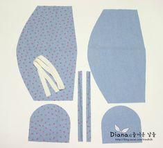 [공유] (과정샷) 아기 보넷 만들기 : 네이버 블로그 Sewing Ideas, Projects To Try, Quilting, Kids Rugs, Decor, Beanies, Caps Hats, Dressmaking, Decoration