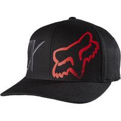Fox Racing Auxilary Men s Flexfit Hats Fox Brand feae03be0f3d