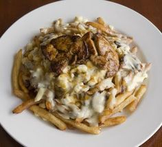 Foie Gras Poutine at Cafe du Lac