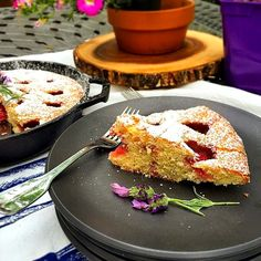 Stacey Snacks: Strawberry Lavender Cake