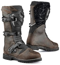 For the two-wheeled wanderluster who goes where the adventure takes him, the TCX Drifter Waterproof Boots will keep your feet firmly planted on the ground. T...