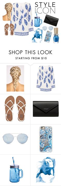 """STYLE ICON"" by summerbarnesofficial ❤ liked on Polyvore featuring Dorothy Perkins, Billabong, Balenciaga, Quay, Casetify, Fitz & Floyd and WALL"