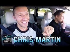 """Veja a participação completa de Chris Martin do Coldplay no """"Carpool Karaoke"""""""