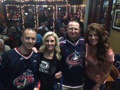 My buddy and I with the Fox Sports Ohio girls