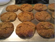 Chocolate pumpkin protein muffins - even the teenagers loved them.