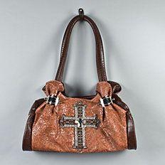 Cowgirl-Chic Fashion Handbag