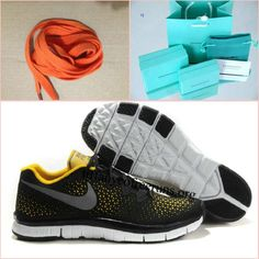 Mens Nike Free Haven Black/Yellow/Reflect Silver Sneakers For Sale, Blue Sneakers, Blue Shoes, New Shoes, Women's Shoes, Nike Free Run 3, Nike Free Shoes, Tiffany And Co Earrings, Tiffany Blue Nikes