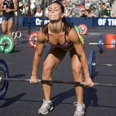 For those of you who are of the misinformed notion that CrossFit girls are butch, you will reconsider that notion after you check out these CrossFit babes. Crossfit Women, Crossfit Gym, Crossfit Athletes, Crossfit Exercises, Crossfit Chicks, Photos Fitness, Camille Leblanc Bazinet, Workout Regimen, Muscle Girls