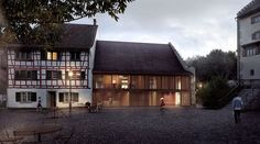 Making of Landenberghaus by loomn - 3D Architectural Visualization & Rendering Blog