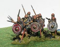 Gripping Beast Plastic Vikings 28mm by Jeremy Sutcliffe, via Flickr