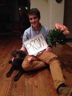 This is how my friend got asked to prom!!